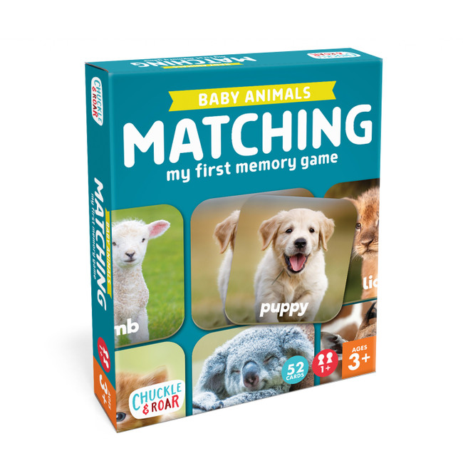 Baby Animals Matching Game Box