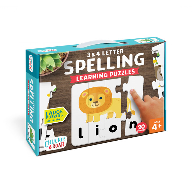 Spelling- Learning Puzzle Box