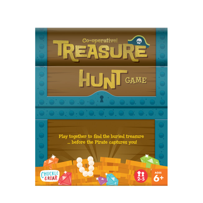 Treasure Hunt Co-op Family Board Game Box