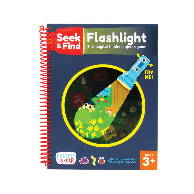 Flashlight Seek & Find Front