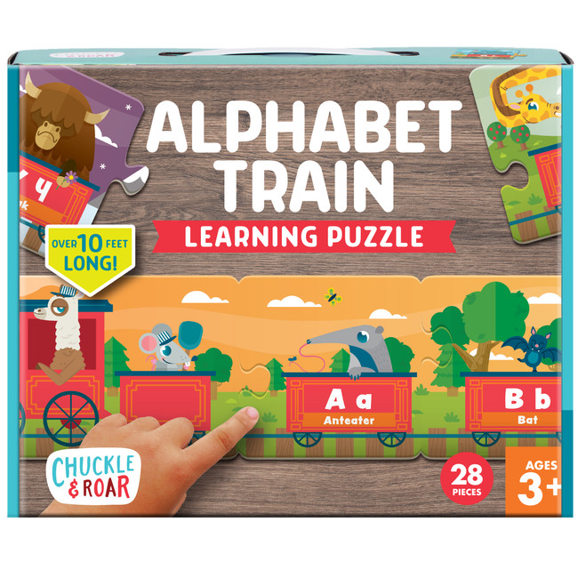 Alphabet Train Learning Puzzle Box