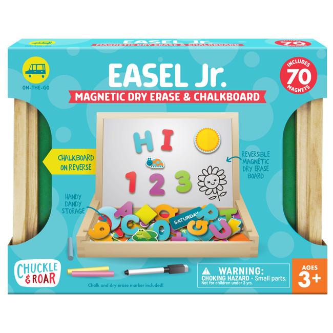 Easel Jr. Magnetic Dry Erase & Chalkboard Front