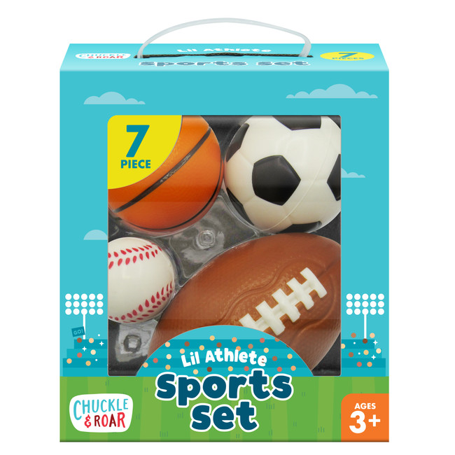Lil Athlete Sports Role Play Set Box
