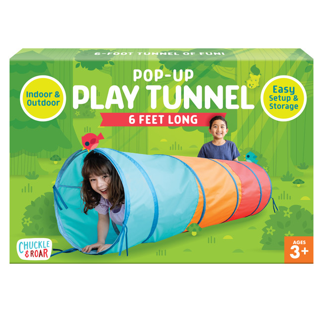 Pop-up Play Tunnel 6ft Long Front