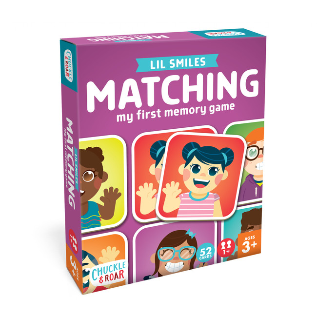 Matching Game - Lil Smiles Front