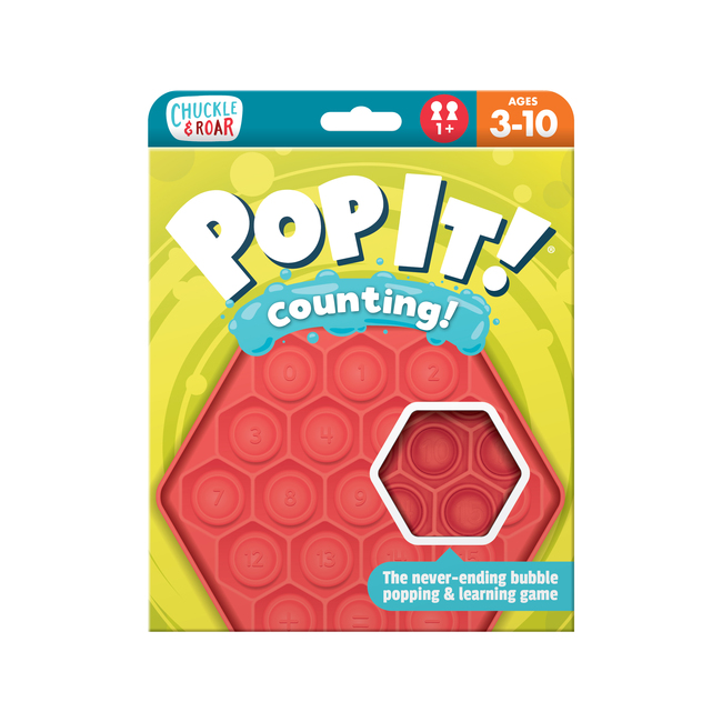 Pop It! Counting- Educational Travel Game for Kids