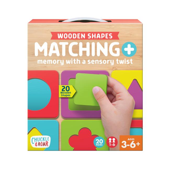 Matching + Wooden Sensory Kids Game