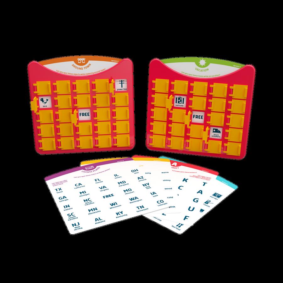 Travel Bingo - Portable Bingo Game