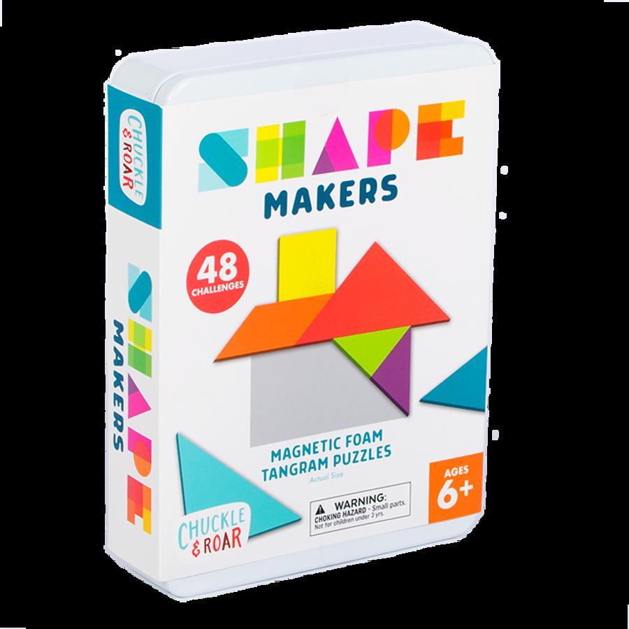 Shape Makers- Magnetic Foam Tangrams Box