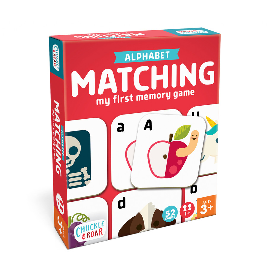 Alphabet Matching Game Box