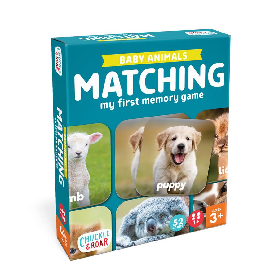 Baby Animals Matching Game Box