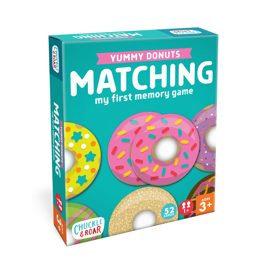 Yummy Donuts Matching Game Box