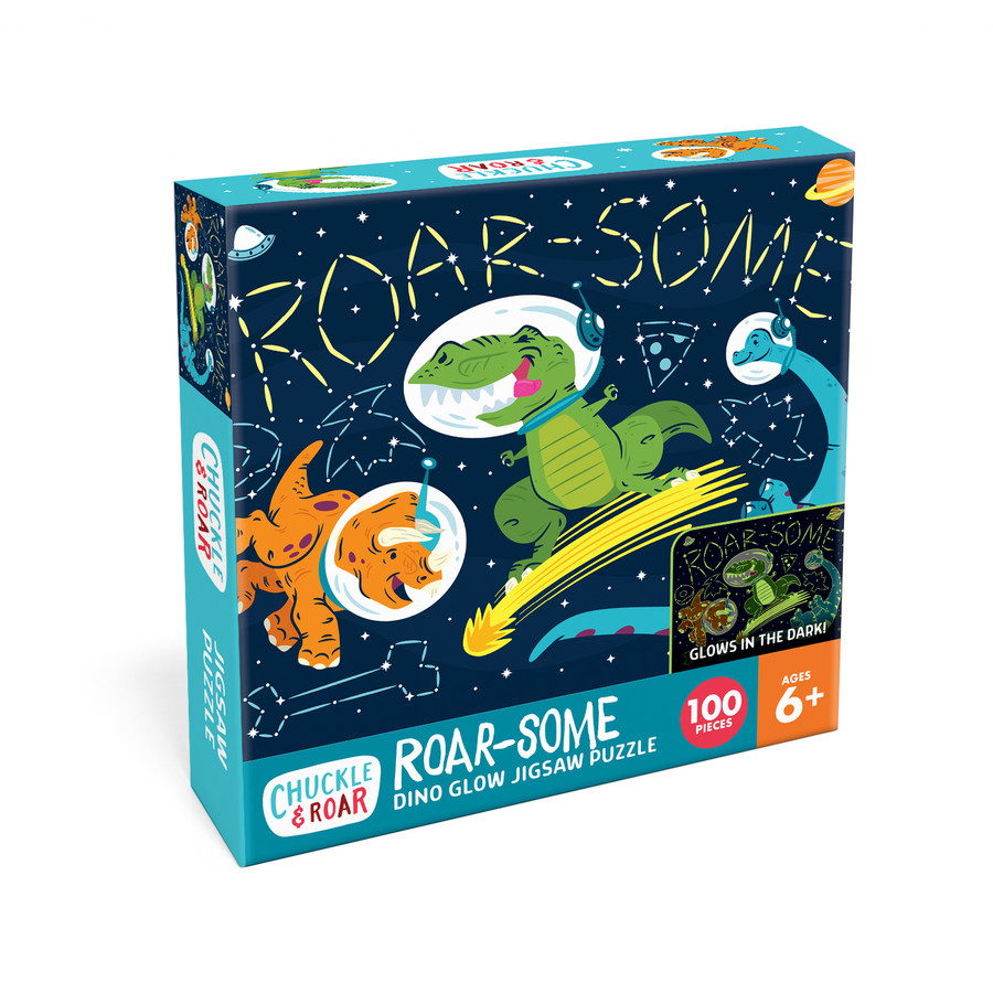 Roar-Some 100 Piece Jigsaw Puzzle Box