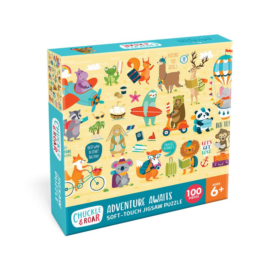 Adventure Awaits 100 Piece Jigsaw Puzzle