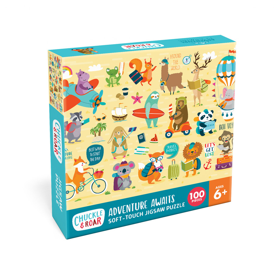 Adventure Awaits 100 Piece Jigsaw Puzzle