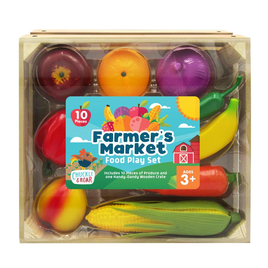 Farmer's Market Food Role Play Set Box
