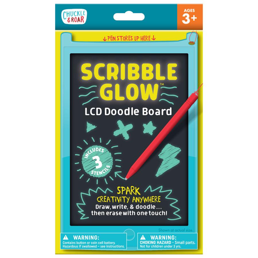Scribble Glow LCD Doodle Board Box