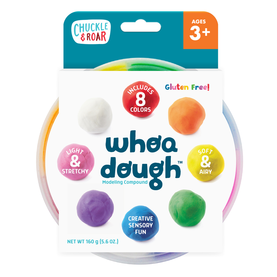Whoa Dough 8-Color Modeling Dough Front