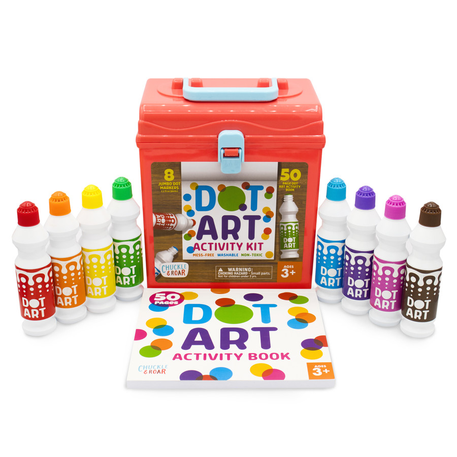 Dot Markers Art Activity Kit Contents