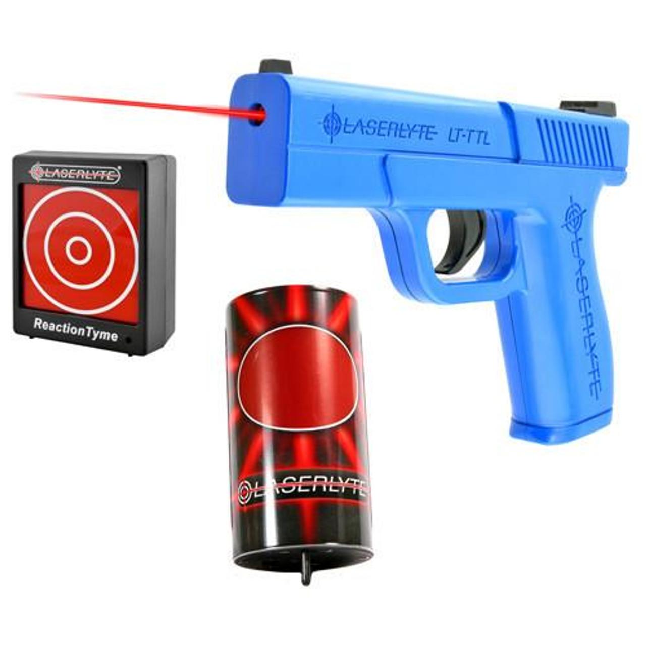 LaserLyte Laser Combo Kit: 1 Can, 1 Reaction Time Target, Laser Pistol