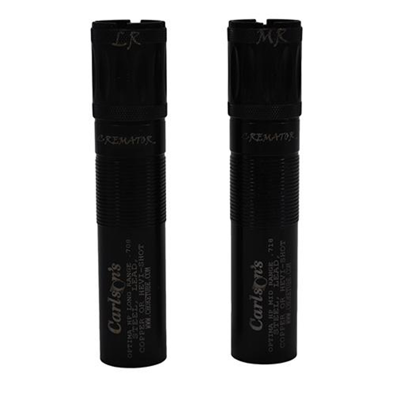 Carlsons Beretta Optima HP 12 Gauge Cremator Non-Ported Choke Tube Mid  Range,  718 Diameter and Long Range,  708 Diameter