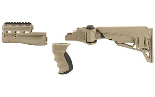 Advanced Technology AK-47 Strikeforce Tactlite Package With Scorpion Recoil  System Olive Drab B 2 20 1250