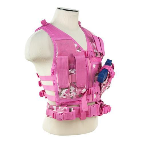 49bfaef1b4a20 NcStar Tactical Vest Pink Camo
