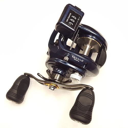 1a058131f10 Daiwa Lexa Line Counter Casting Reel 300, 6.3:1 Gear Ratio, 7 Bearings