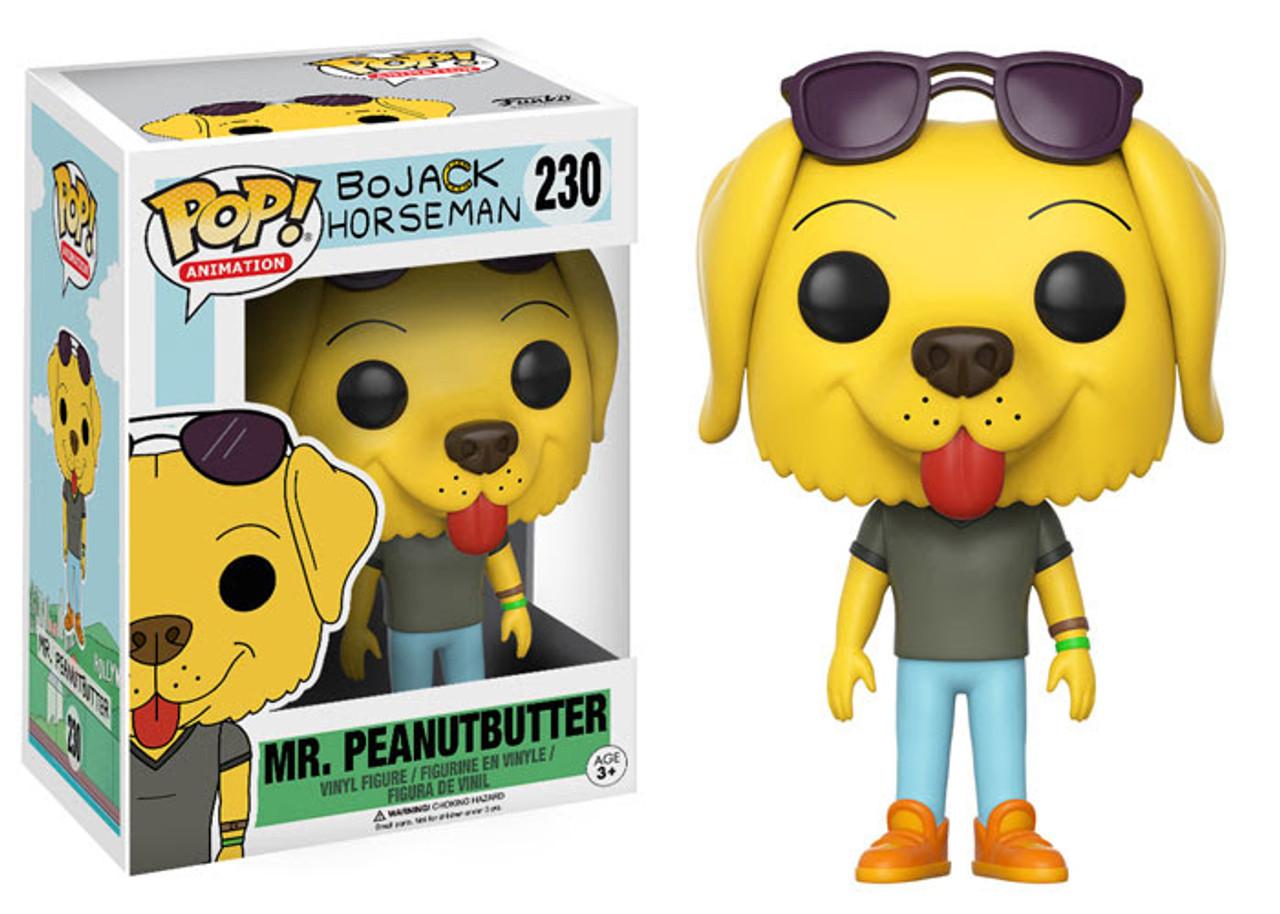 BoJack Horseman Peanutbutter Pop Vinyl Figure NEW Funko Mr