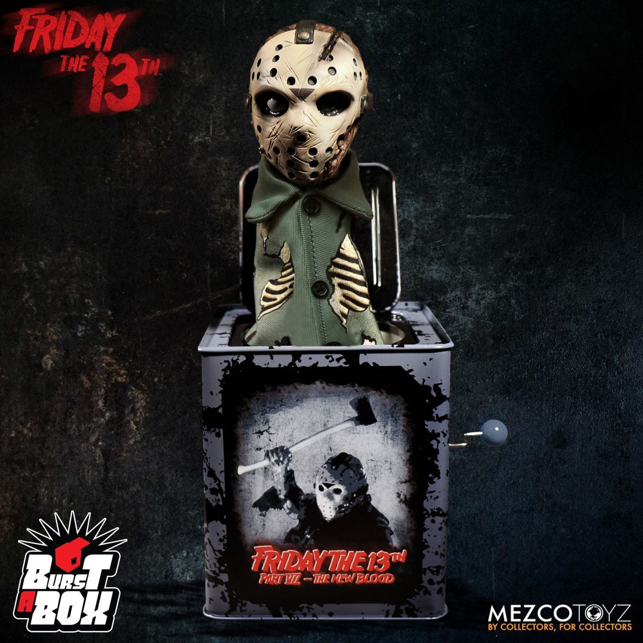 6d82003f830 Friday the 13th Part VII Jason Voorhees Burst a Box Jack-in-the-Box