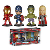 Funko Avengers Age of Ultron Mini Wacky Wobbler 4-Pack