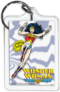 """DC Comics Wonder Woman Flying 3"""" x 2"""" Officially Licensed Lucite Double Sided Ke"""