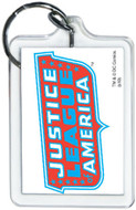 "DC Comics Justice League America Logo 3"" x 2"" Officially Licensed Lucite Double"