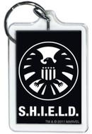 Marvel Comics S.H.I.E.L.D. Symbol Lucite Keychain 65788KR