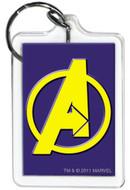 Marvel Comics Avengers Logo Lucite Keychain 65789KR
