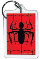Marvel Comics Spiderman Logo Lucite Keychain 65791KR
