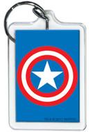 Marvel Comics Captain America Shield Lucite Keychain 65793KR
