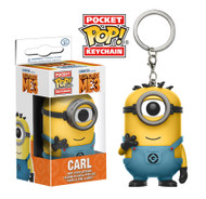 Get ready for another adventure with Gru and the Minions! From Despicable Me 3 comes this Despicable Me 3 Carl in Minion Jumpsuit Pocket Pop! Key Chain. Packaged in a window display box, the figure measures approximately 1 1/2-inches tall.