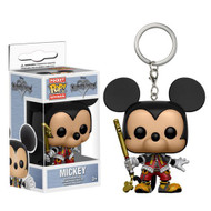 Bring a little extra courage everywhere you go! From the Kingdom Hearts video game series comes a pocket-sized Mickey! This Kingdom Hearts Mickey Pocket Pop! Key Chain comes packaged in a window display box and measures approximately 1 1/2-inches tall. Ages 3 and up.