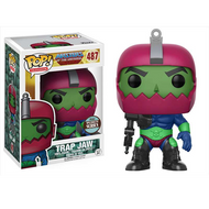 Masters of the Universe Funko POP! TV Trap Jaw Exclusive Vinyl Figure #487