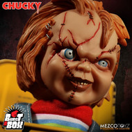 Child's Play Bride of Chucky Scarred Chucky Burst a Box Jack-in-the-Box