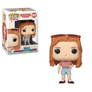 The Stranger Things Max Mall Outfit Funko Pop! Vinyl Figure measures approximately 3 3/4-inches tall. Comes packaged in a window display box. Ages 3 and up.