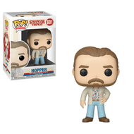 The Stranger Things Lucas Funko Pop! Vinyl Figure measures approximately 3 3/4-inches tall. Comes packaged in a window display box. Ages 3 and up.