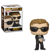 Men in Black International Agent H Funko Pop! Vinyl Figure #738. Measures approximately 3 3/4-inches tall. Comes packaged in a window display box. Ages 3 and up.