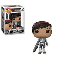 Gears of War Funko POP! Video Games Kait Diaz Vinyl Figure #475. Measures approximately 3 3/4-inches tall. Comes packaged in a window display box. Ages 3 and up.