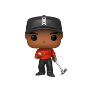 Tiger Woods has won 107 professional worldwide events including 15 majors and countless other accolades and victories over the course of his career. Bring home one of the most famous professional athletes in history with Pop! Tiger Woods wearing his Sunday red.