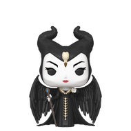 Dive into a magnificent world of good and evil, love and betrayal with Pop! Feast Maleficent.