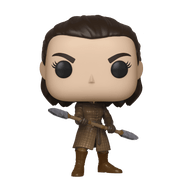 Commemorate the Battle of Winterfell; bring home Pop! Arya Stark [w/ Two Headed Spear]