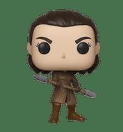 Commemorate the Battle of Winterfell; bring home Pop! Arya Stark [w/ Two Headed Spear]