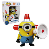 Funko Despicable Me 2 POP! Movies Fire Alarm Minion Vinyl Figure #126